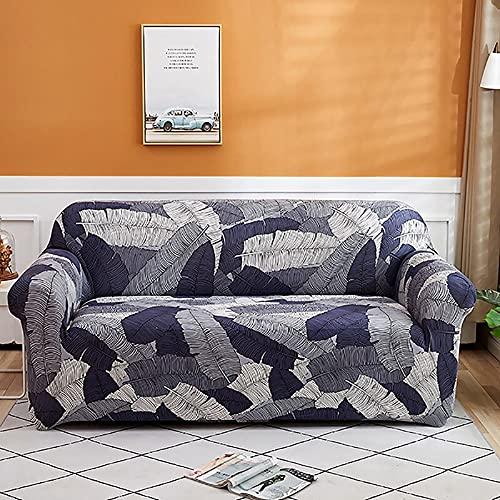 Fundas de sofá elásticas para Sala de Estar, Fundas elásticas de Material elástico, Funda para Silla de sofá, sofá en Forma de L A6, 3 plazas
