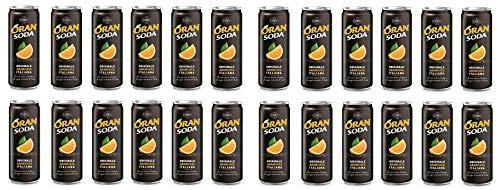 Oransoda Dose 24 x 330 ml. - Campari Group Orange Soda
