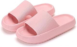 Pillow Slides Slippers, Massage Shower Bathroom Slipper, Non-Slip Quick Drying Open Toe Super Soft Thick Sole Sandals, 202...