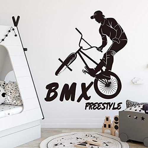 yaonuli Fiets muur sticker jongen kamer kinderkamer mountainbike muur decal slaapkamer vinyl decoratie