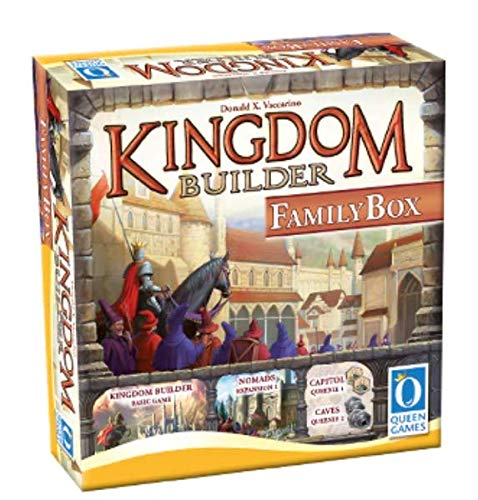 Queen Games Kingdom Builder Family Box - English - Deutsch - Francais