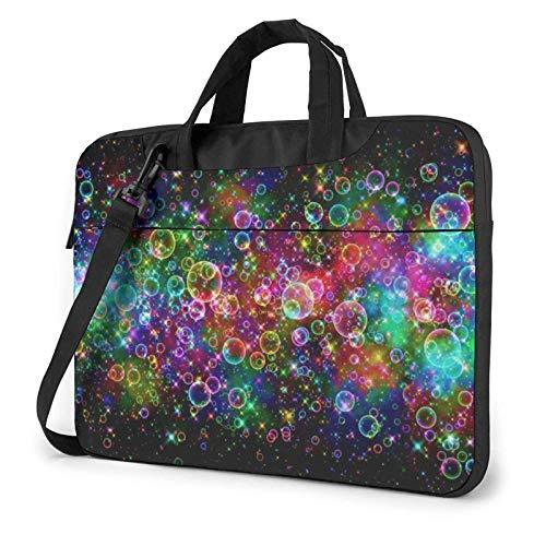 Bright Beautiful Bubbles Art Funda para portátil de 14 Pulgadas, Elegante y Bonito Bolso de Neopreno para portátil