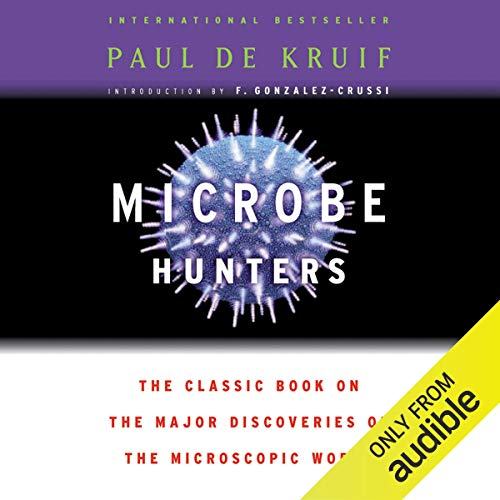 Microbe Hunters audiobook cover art