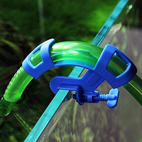 Quanjucheer Aquarium-Filtration Wasserschlauchhalter lebende Pflanzen Fisch Garnelen Tank Werkzeug Aquarium Zubehör