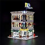 BRIKSMAX Kit de LED pour Lego Grand Magasin, Compatible avec la Maquette Lego 10211, La Maquette de Construction n'est Pas Incluse