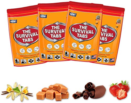 Survival Tabs 8-Day Food Supply 96 Tabs Emergency Food Replacement Disaster Preparedness for Earthquake Flood Tsunami… 3