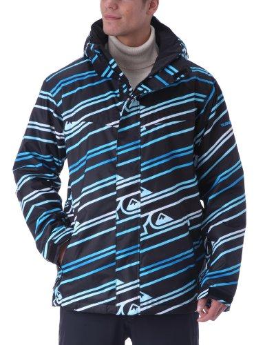 Quiksilver Last Mission - Chaqueta de esquí para Hombre, tamaño XXL, Color Azul