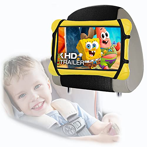 """HOZOMT Universal Headrest Tablet Holder for Car Backseat,iPad Car Back Seat Tablet Holder for Kids,Upgrade Rear Facing Car Tablet Stand Mount for Kindle/Fire HD/All 6.5""""~10.9"""" Inch Electronic Devices"""