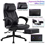 Best Ergonomic Office Chair For Short People - VANBOW Office Chair High Back Leather Executive Computer Review