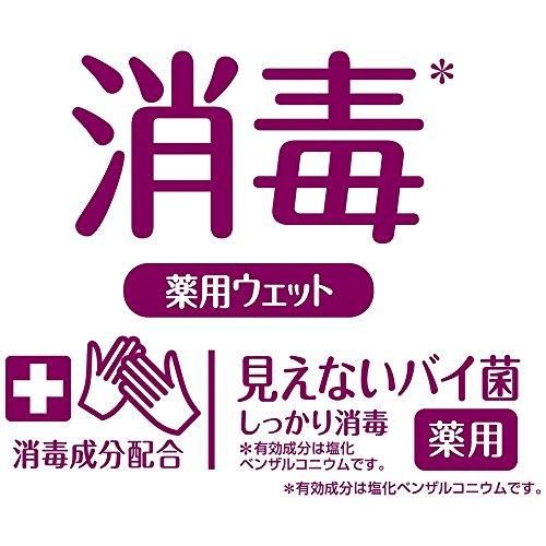 シルコットウェットティッシュ消毒タイプ本体40枚(指定医薬部外品)