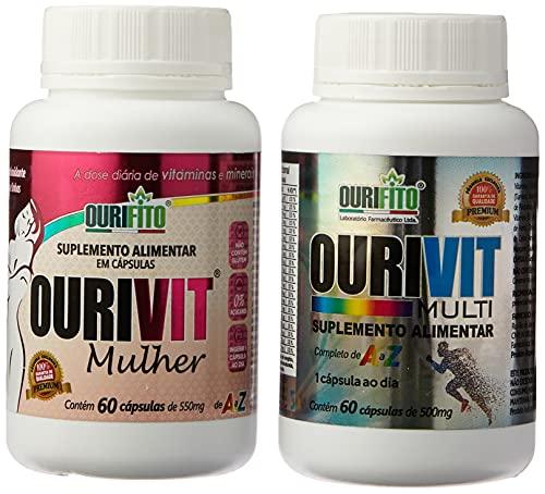 Promoção Ourivit Multi+mulher 60+60 Cápsulas