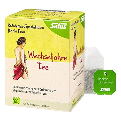 Salus Wechseljahre Tee Kräutermischung, 15 St. Filterbeutel