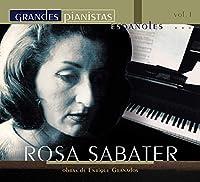 Sabater Grandes Pianistas Espanoles Vol.1-plays Granados