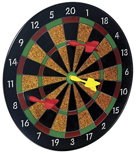 "Magnetic Dartboard Set with 6 Darts, 12"" Safety Dart Board Game, Best Gift for Kids Teens Boys Girls"