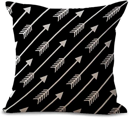 Cushion Cover Colored Abstract Geometric Lines Series Green Orange Turquoise Black Purple Gray Yellow Olive Green Home Bar Club Car Bed Decor Sofa Cushion Cover (18x18 inch/ 45x45cm)