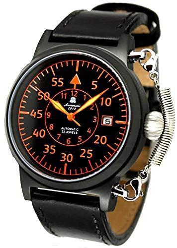 Aeromatic German Pilot Reloj automático 'Special Spring Crown Safe System' modelo vintage A1332