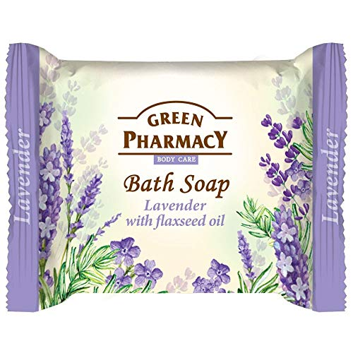 Green Pharmacy Bath Soap Lavender With Flaxeed Oil 100Gr