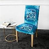Funda de silla Ropa de cama Outlet Mini Van Funda de silla Mandala Hippie Car Spandex Funda...