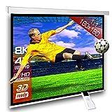 Écran de projection motorisé 180 x 180 cm SlenderLine Plus, Format 1:1 FULL-HD 3D 4K 8K, Écran de...