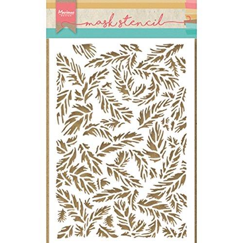 Marianne Design Tiny's veren sjabloon, synthetisch materiaal, 24,1 x 16,1 x 0,1 cm