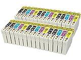 TONER EXPERTE 30 Compatibles 16XL Cartouches d'encre pour Epson Workforce WF-2010W...