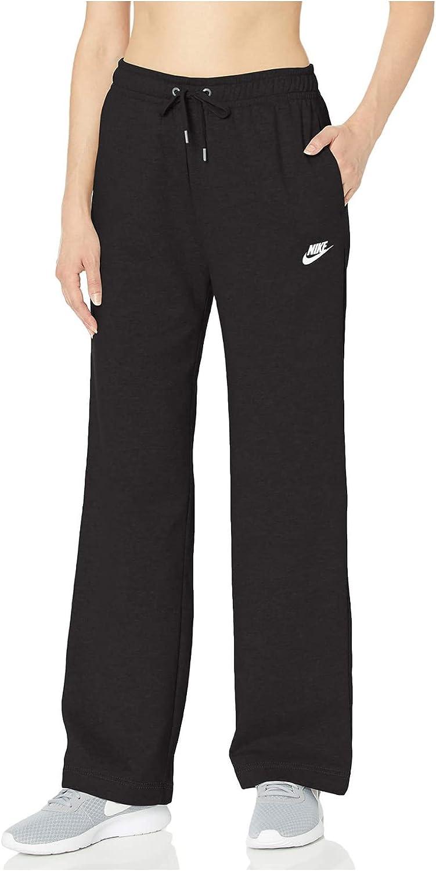 Nike Women's NSW Open Hem Fleece Pant Varsity : Sports & Outdoors