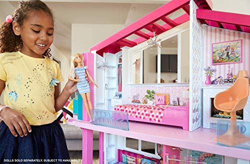 Maison de Rêve Barbie avec Garage Ascenseur Piscine et Glissade - 20