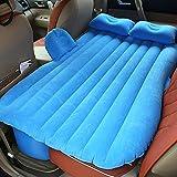 Colchón Hinchable con Bomba de Aire, para Viajes, acampadas, para el Asiento Trasero, para SUV Limousine mpv, Azul