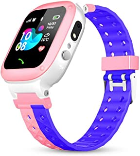 Smartwatch IP67 Waterproof, Kids Wristwatch, Sport Watch with SOS Call, Location, Reminder, Loss Prevention, Take a Photo, Alarm Stopwatch, Support SIM Card Slot for Android/iOS