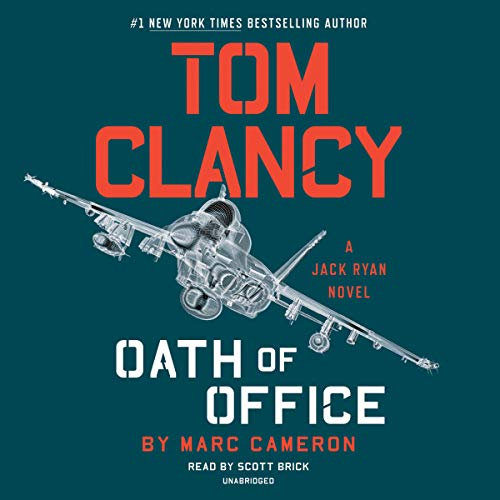 Tom Clancy Oath of Office audiobook cover art