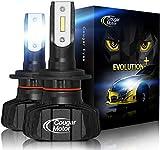 Cougar Motor H7 Led headlight bulb, 9600Lm 6500K Fanless Conversion Kit - 3D