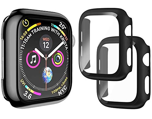 Protector de Pantalla para Apple Watch Serie 6/5/4/SE 40mm Cristal Vidrio Templado,...