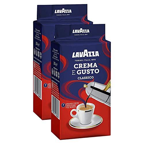 Lavazza Crema e Gusto Ground Coffee 250g (Pack of 2)