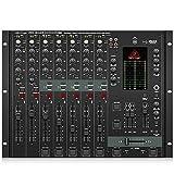 Behringer Pro Mixer DX2000USB 7-Kanal DJ Mixer mit optischem Infinium Crossfader und integriertem USB/Audio Interface