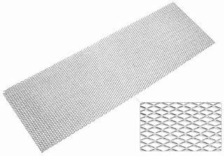 SCHLAGWERK TECHNIX Race Mesh Material: Aluminium EVORG6(AL3030) Diameter: 8x 16mm, Size: 135x 30cm Weight: 250g/ANODISED SILVER