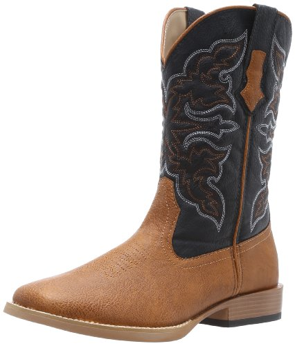 Hot Sale Roper Men's Basic Square Toe Equestrian Boot,Brown,12 M US