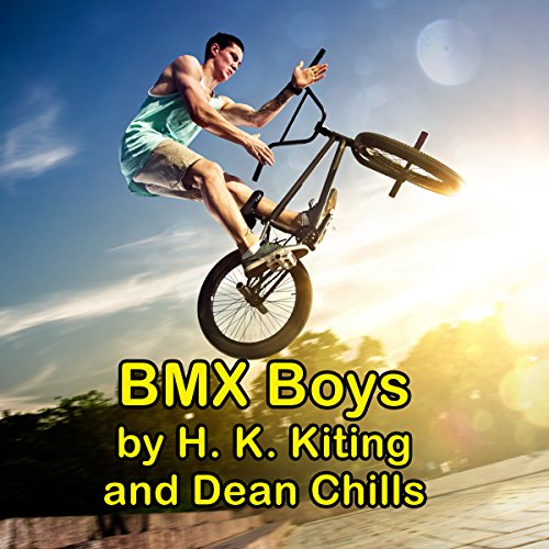 BMX Boys audiobook cover art