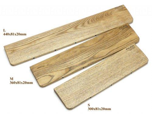 FILCO ウッドパームレスト Lサイズ 幅(440mm) 天然堅木製 オスモカラー仕上げ 日本製 ブラウン FWPR/Lの詳細を見る