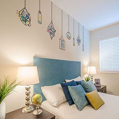 Bas Fish Tank Décoratif Stickers Muraux Plantes Salon Chambre Chambre Décorations Home Decor Murale Murale Art Stickers Diy Pvc Affiche