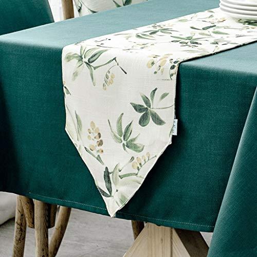 YXN stof rechthoekige tafelloper, dikke antislip decoratieve tafelvlag, geschikt voor eettafel, tv-kast, salontafel (kleur : B, Maat : 30X240CM)