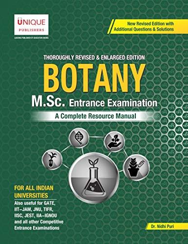 M.Sc. Botany