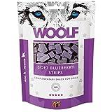WOOLF tiras de pollo y arándanos 100g - Golosinas de perros