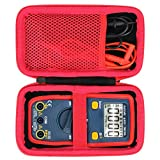 Aenllosi Hard Carrying Case Compatible with AstroAI Digital Multimeter Voltage Tester 1.5v/9v/12v Auto-Ranging 4000 Counts TRMS Voltmeter(only case)