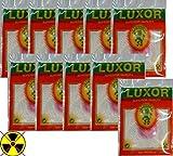Luxor 10 X Glühstrümpfe für Petromax HK500 HK350 HK250 HK150 und andere Petroleumlampen HK500 (1-Loch - 400/600 CP)