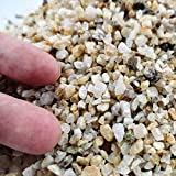 Voulosimi 6.5 Pounds Coarse Silica Sand for Aquariums and Bonsai Tree Mix