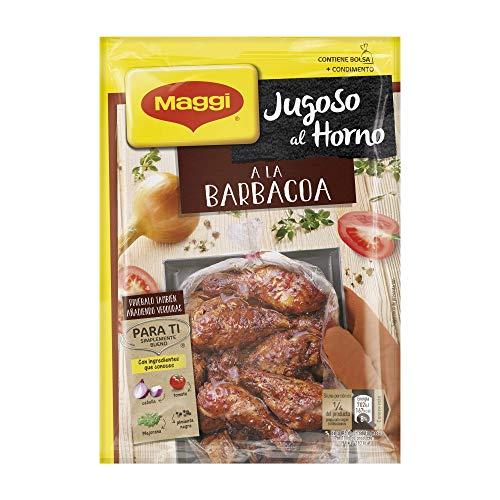 Maggi Jugoso al Horno a la Barbacoa, 30g