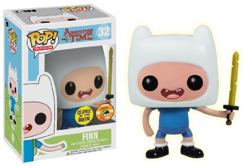 Funko POP Television Finn with Sword Adventure Time Vinyl Figure (SDCC Exclusive) by Funko [Toy] (English Manual)