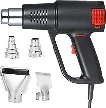 أنسيلف 2000 واط تسخين سريع مسدس هواء ساخن عالي الجودة يحمله الحرارة الكهربائية قابل للتعديل درجة الحرارة بندقية