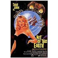 Weuewq この地球の映画ポスターキャンバス絵画背景壁アート写真装飾リビングルームホームギフト-20X28インチフレームなし