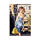 Sänger-Poster Jennifer Lopez 11, Leinwand-Poster,